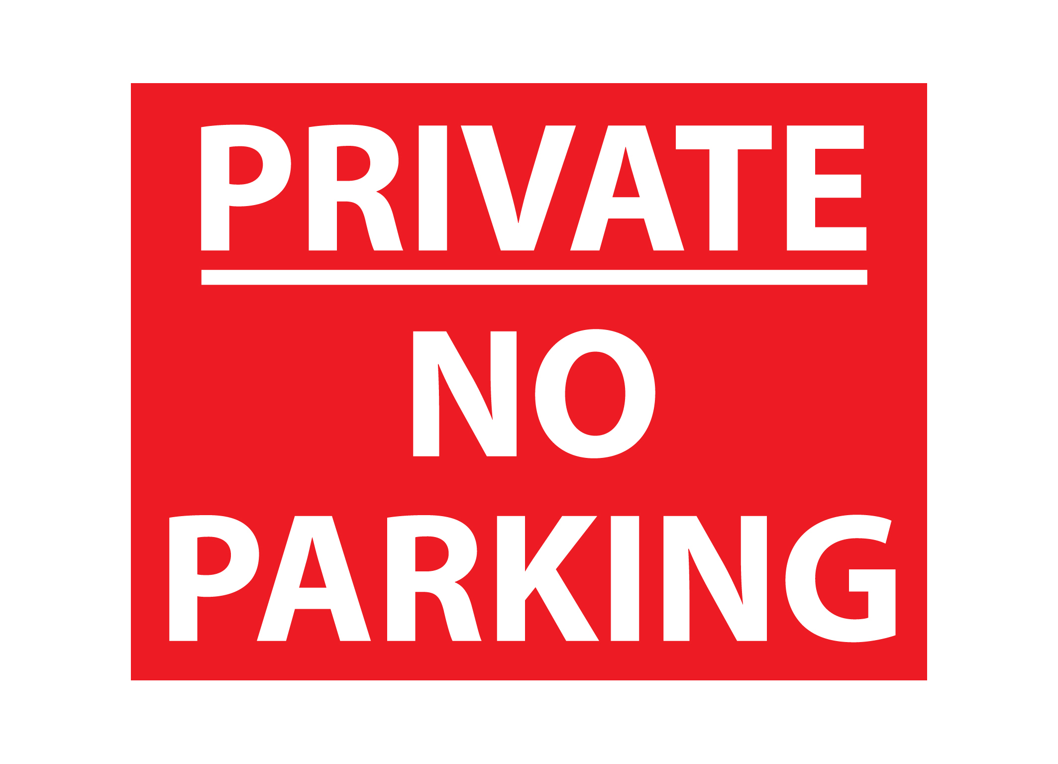 This is an image of Fabulous Printable No Parking Sign