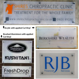 Business Sign Samples