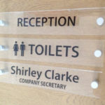Office Door Signs Contemporary Acrylic