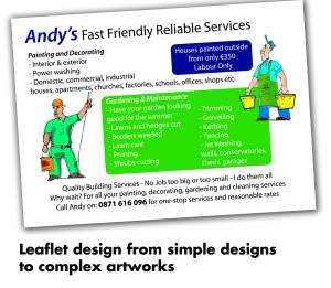 Andys leaflet